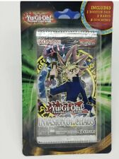 YuGiOh Yu-Gi-Oh New Sealed Invasion Of Chaos Blister Booster Pack w/ Bonus Cards