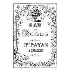 1 Acrylstempelset Eau de roses WTK145 7x11 cm  Stamperia