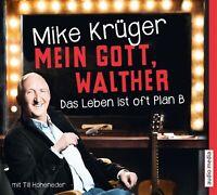 MIKE KRÜGER - MEIN GOTT,WALTHER-DAS LEBEN IST OFT PLAN B 4 CD NEW