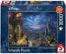 NEW! Schmidt Beauty and the Beast by Thomas Kinkade 1000 piece disney jigsaw