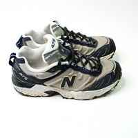 New Balance Mens 7.5 40.5 Navy Silver 475 Shoes All Terrain Running Made in USA