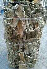 mezzo kg,500 gr di sughero corteccia albero per presepe da san gregorio na