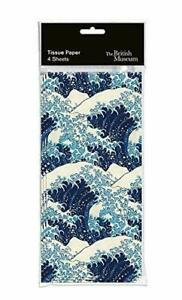 1 Pack High Quality Great Wave Designer Tissue Paper British Museum Collection
