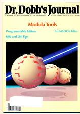 Dr. Dobbs Journal - Nov 1985 - Modula Tools