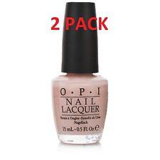 2 Pack Opi Nail Polish Nail Lacquer Bubble Bath Neutral Pink 0.5 Fl Oz