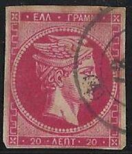 Greece Hermes Head 20 l bright rosine (Hellas 59Iia) (686/455)