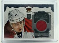 BRENDAN GALLAGHER 2013-14 PANINI CROWN ROYALE ROOKIE RC JERSEY HEIRS TO THE CROW