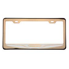 Rose Gold Laser Etched Chrysler Logo License Plate Frame T304 Stainless Steel
