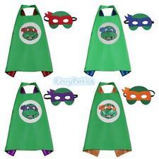 Kids Teenage Adult Mutant Ninja Turtles Cape & Mask Superhero Costume Accessory