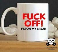 personalised,Rude, novelty Funny mug birthday, christmas, secret santa gift c47