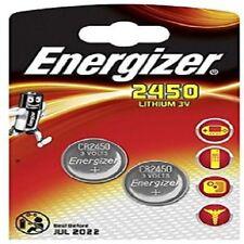 2 x Energizer CR2450 3V litio moneta cella BATTERIA 2450