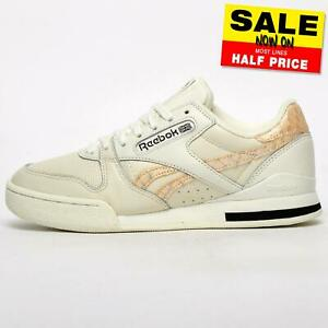 Reebok Classic Phase 1 Pro Women's Leather Vintage Retro Trainers Off White
