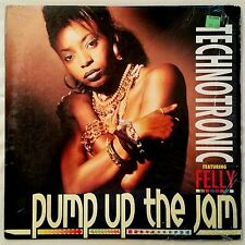 HOUSE - TECHNOTRONIC FEATURING FELLY - PUMP UP THE JAM - SBK ORIGINAL PRESSING