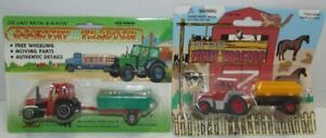 2 Die Cast Tractors MIP: Welly Country Tractor , Pic Farm Tractor