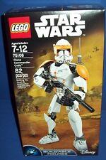 LEGO 75108 CLONE COMMANDER CODY ~ STAR WARS NISB new retired buildable figures