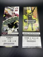 2020 Indy 500 Ticket Stub Both May 24 + August 23 Dates - Rare exact same seats
