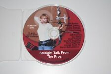 Straight Talk From The Pros DVD Archery Target Panic Hinged Jaw Trigger Release