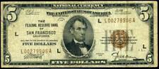 5 dollars 1929 San Francisco (L) very RRR