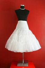 "Lady 50's WHITE Underskirt Rock n' Roll Petticoat / TUTU 26"" FREE P&P"