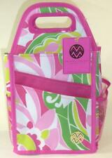 Spinning Craft Tote Carousel Macbeth Collection Cropper Hopper Flowers Hot Pink