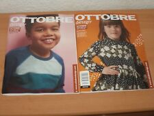 OTTOBRE design kids fashion 62-170 cm Ausgabe Herbst 4/2018 + Schnittmuster!