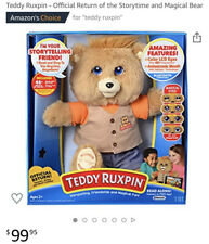 New Teddy Ruxpin Story Telling Animated Bear Bluetooth Hot Toy!