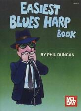 Easiest Blues Harp Book Learn How to Play Diatonic Harmonica Method Sheet Music