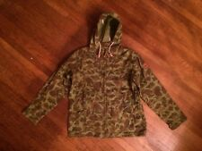 New Penfield Gibson Jacket Duck Camo Size L Hoodie