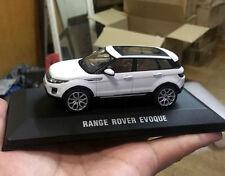 RANGE ROVER EVOQUE 1:43 scale Diecast model Cars *WHITE*