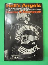 Hell's Angels Hunter S. Thompson Random House Fourth Printing Hard Back 1967