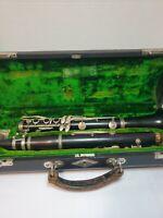 PENZEL MUELLER & CO vintage wooden Clarinet in B-, #11943 LP long island N.Y.