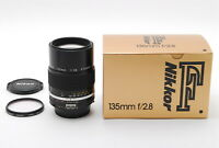 [Mint in Box!] Nikon Ai-s NIKKOR 135mm f/2.8 AIS 1:2.8 Lens Made in Japan