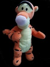 Doudou Tigrou DISNEY 25cm Orange Jaune NEUF