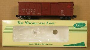 S-Helper 00074 GGYV&N SS Xm Boxcar #77569 S-Gauge/Scale NIB