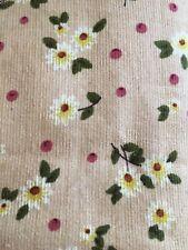 Micro Corduroy Floral print Beige 42� W X 66�L