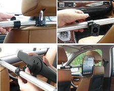 """Car Headrest Holder Mount for iPad,iPad Air,all 7""""-11 Tablet/Phone 360 Rotating"""