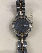 Men's 18K Yellow Gold Stainless steel Bertolucci Pulchra Chronograph watch