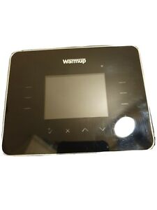 Warmup 3IE Underfloor Heating Programmable Thermostat Black