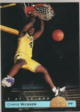 1993 Classic Limited Print #LP1 Chris Webber rookie card, Michigan Wolverines