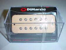 DIMARZIO DP169 Virtual P90 Soapbar Guitar Pickup - CREME