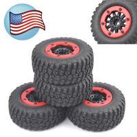 4X Bead-Lock Tire Wheel Rim For HPI HSP 1:10 TRAXXAS Slash Short Course Car US