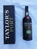 Bottiglia Vino Taylor's Port Special Ruby Collezione con Astuccio per Esperti