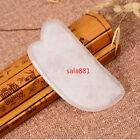 Natural Rose Quartz Gua Sha Body And Face Guasha Board Popular SPA Massage Tool