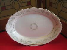 """Vintage Syracuse China Federal Shape Appleton 12"""" Oval Serving Platter 1962-1966"""