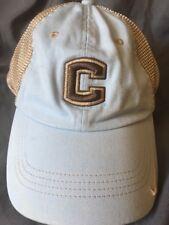 NIKE UCONN HUSKIES Women's Mesh SnapBack Hat Lt. Blue& Brown/Tan