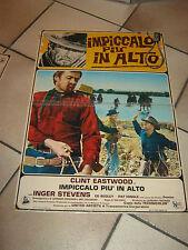 FOTOBUSTA,Impiccalo più in alto,Hang 'Em High 1968,CLINT EASTWOOD,T.Post,Stevens