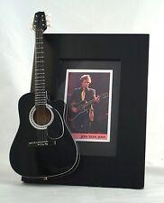 JON BON JOVI Miniature Guitar Frame Black Takamine
