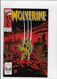 Wolverine #  33 Fine 1st print MARVEL COMICS 1988 Series