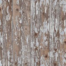 DISTRESSED CABIN WOOD WALLPAPER - ARTHOUSE VIP 622009 - RUSTIC ROOM DECOR