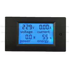 AC 100A Digital LED Power Panel Meter Monitor Voltmeter Ammeter